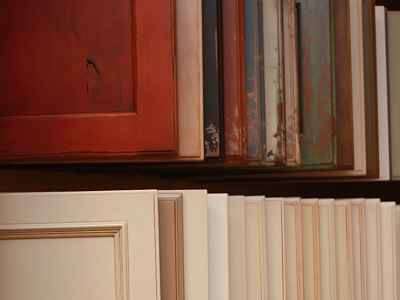 Specialty Cabinet Finishes