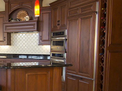 Custom Cabinet Installation
