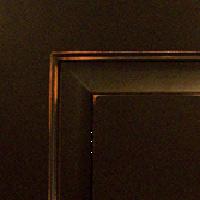 Black Burn-Thru Finish w/ Glaze