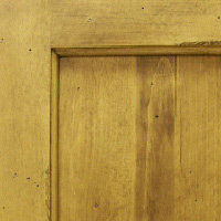 Knotty Pine with Distressed & Glazed Finish