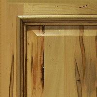 Rustic Natural Finish  w/ Distressing  & Glaze