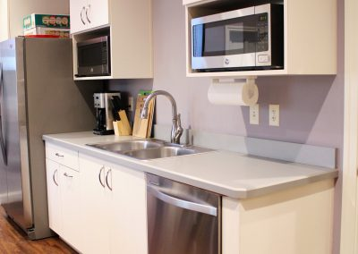 Breakroom kitchenette