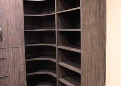 Closet Curved corner