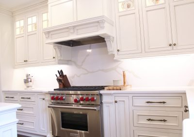 Stove and Hood cabinets