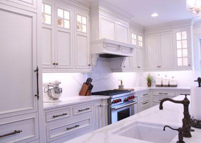 Stove cabinets